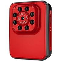 Ocamo Super Hi-Vision WIFI HD 1080P Micro Camera USB 2.0 Port Night Vision Mini Camcorder Action Camera DV DC Video Recorder red