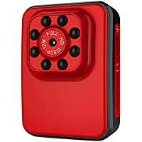 Super Hi-Vision WIFI HD 1080P Micro Camera Night Vision Mini Camcorder Action Camera DV DC Video Recorder USB 2.0 Port(red)