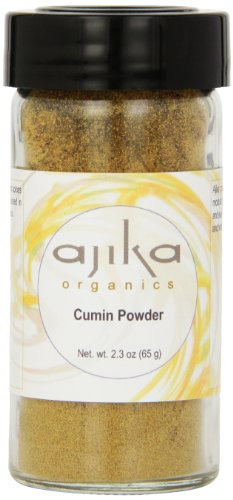Ajika Organic Cumin Powder, 2.3-Ounce by Ajika