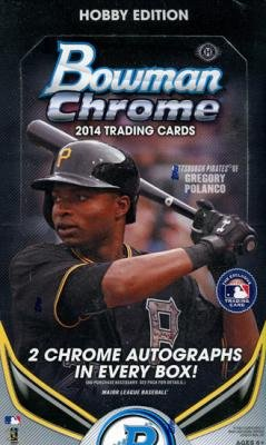 2014 Bowman Chrome HOBBY Baseball box (18 pk) ()