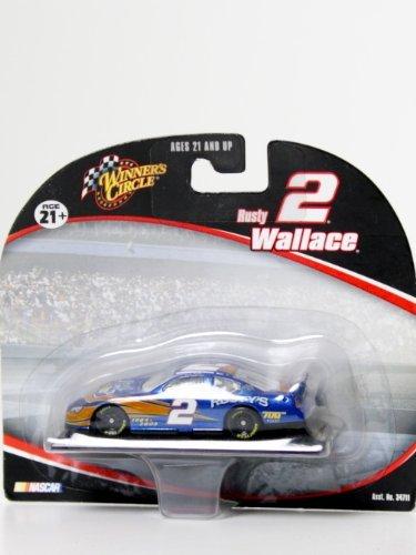 - NASCAR, #2 Rusty Wallace, Miller Lite, 1:64 Scale Stock Car