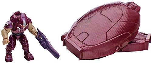 Mega Bloks Halo Drop Pod Metallic Crimson Elite Toy Figure