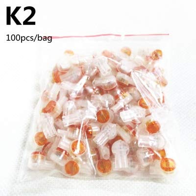 Davitu 100pcs! K1 K2 K3 cable crimp terminal waterproof