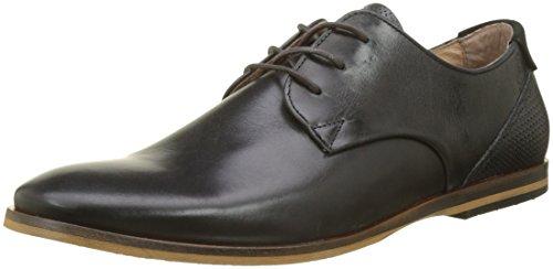 Zapatos Cordones Negro Derby de 15 Schmoove Black Hombre Motta Tornado Black para Swan xqwnw1Xzt