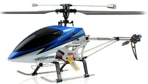Double Horse 3CH Metal Helicopter with Built-in Gyro