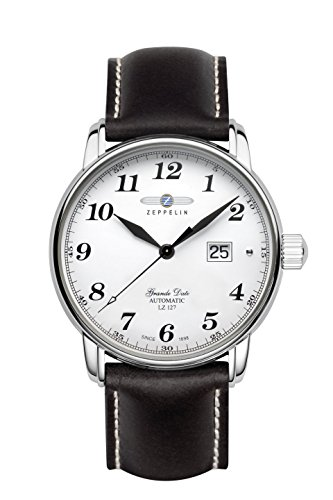 Zeppelin Series LZ127 Graf Zeppelin Swiss Automatic Men's Big Date Watch 7652-1S