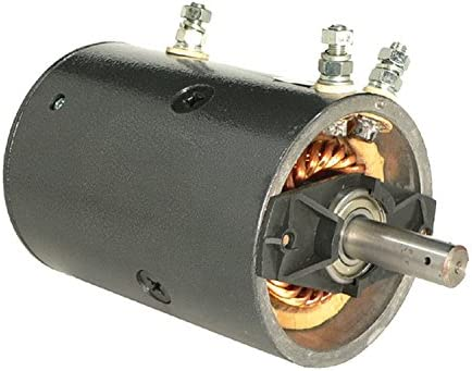 Warn 7536 W-8941 DB Electrical LPL0015 Pump Motor for Warn Keyed Shaft Heavy Duty 8274 46-2262 MBJ4401 MBJ4401S