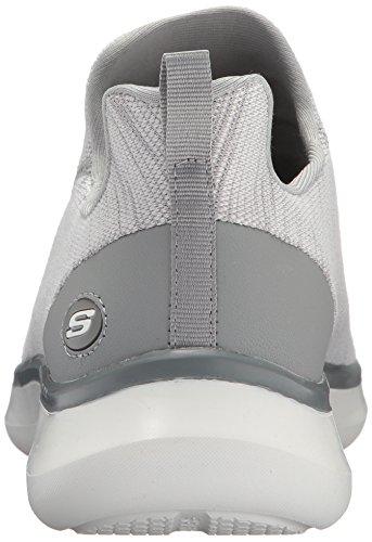 Quantum Sneaker Men's Gray Flex Skechers HwqZAnTW