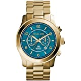 Michael Kors Runway Gold Three-Hand Men's Watch