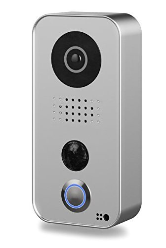 DoorBird WiFi Video Doorbell D101S, Strato Silver Edition