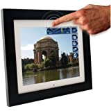 Pandigital Pan Touch PAN1002W02T 10.4-Inch Digital Picture Frame (Black)
