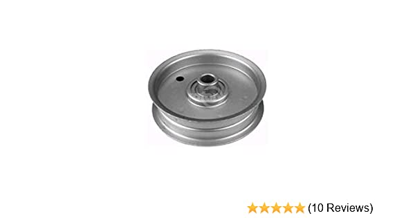 "Dixon 1687 539115278 Replacement 1//2/""X 4-1//2/"" Flat Idler Pulley"