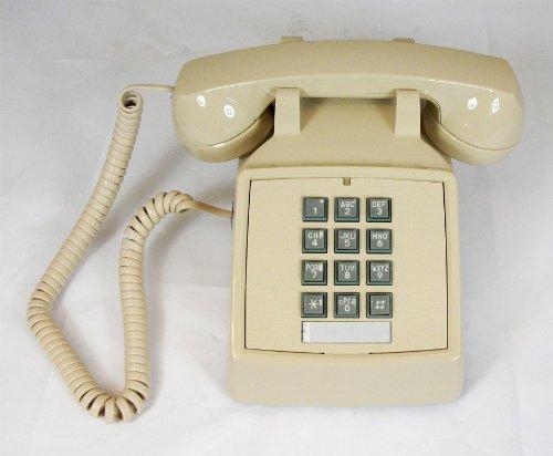 - Cortelco ITT-2500-V-AS 250044-VBA-20M Desk w/ Volume ASH