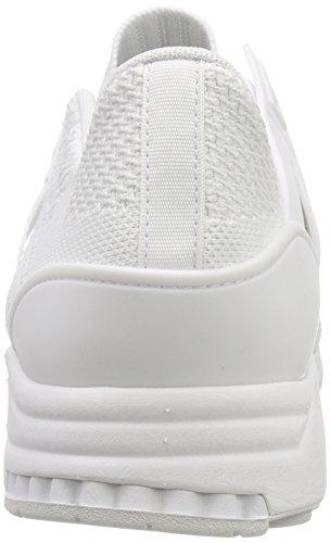 Adidas Mannen Eqt Steun Rf Primeknit Fitness Schoenen Wit (ftwbla / Ftwbla / Balcri 000)