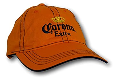 h3 Sportsgear Corona Extra Beer Orange Stitches Slouch Adjustable Hat Cap from H3 Sportsgear