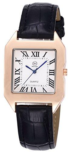 RW Unisex Wristwatch Fashion Casual Quartz Analog Wrist Watch with Silicone Strap for Men Male Women Ladies Female