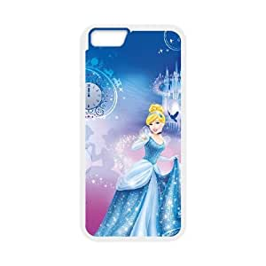Disney Cinderella Character Cinderella iPhone 6 Plus 5.5 Inch Cell Phone Case White Wizyp
