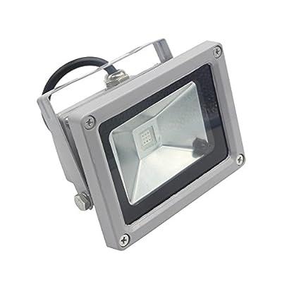 New Cold White, 20W 12V : 12V LED Flood light 10W 20W 30W 50W AC 12V DC IP65 Outdoor Floodlight Safety Light Led Bulb Spotlight RGB Refletor Lamp Wall