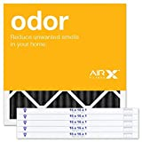 AIRx 16x16x1 Odor Air Filter - MERV 8 - Carbon