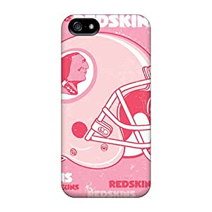 ErleneRobinson Iphone 5/5s Great Hard Phone Case Allow Personal Design Stylish Washington Redskins Image [zot15387ElZR]