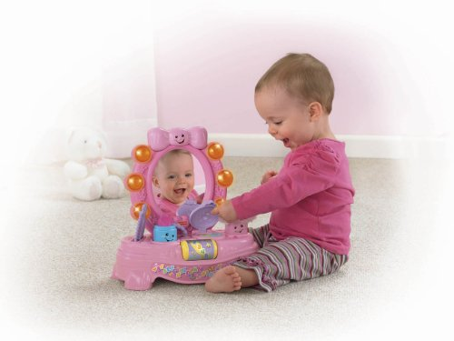 Fisher-Price Laugh & Learn Magical Musical Mirror [Amazon Exclusive] ()