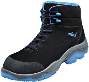ESD Chaussures de sécurité SL 805XP Blue Large dans 10conforme EN ISO 20345S3SRC de Atlas, noir, 43