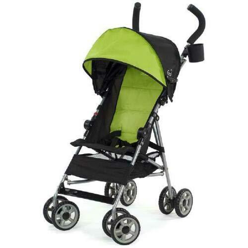 Umbrella Stroller Lightweight Extended Folding in Green/Black