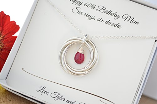 Quartz Ruby Necklace - 1