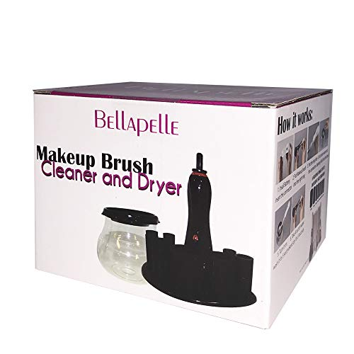 Bellapelle electric Makeup Brush Cleaner and Dryer with Powerful Spinner for Super-Fast Cleaning and Drying in Seconds Great for All Sizes and Types of Brushes by Bellapelle (Image #4)