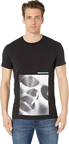DSQUARED2 Men's Mert & Marcus Jersey T-Shirt Black Small