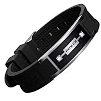 Spirit-T Muscle Wristband- Strengthens Meridians and Biofield. Antioxidants and Improved Blood-Flow