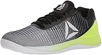 Reebok Women's Crossfit Nano 7 Cross Trainer, Off-White/Electric Flash, 5.5 M US