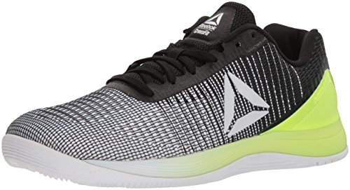 Reebok Women's Crossfit Nano 7 Cross Trainer, Off-White/Electric Flash, 9 M US