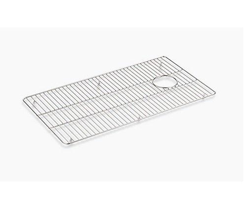 KOHLER 6109-ST Kennon Large Stainless Steel Sink Rack, 17-3/4'' x 15-9/16'', Stainless Steel