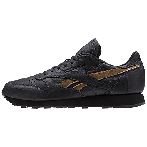 noir Leather Reebok Tu or Cl Chaussures Charbon OxYqvgYEna
