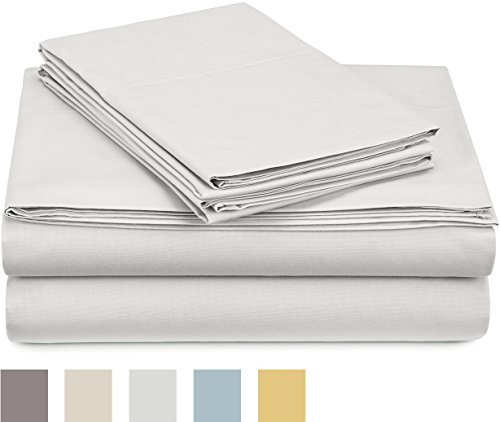 Italian Luxury Silk Pillowcases 2-Pack - Queen - White