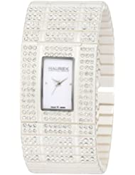 Haurex Womens XW368DW1 Honey White Stainless Steel Watch