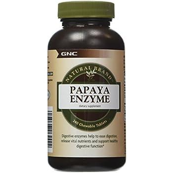 Amazon.com: Natures Truth Chewable Papaya Enzyme 120 ...