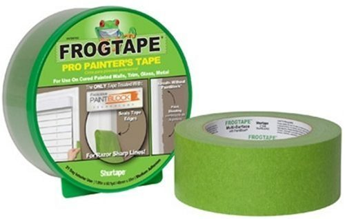 Frog Tape 82031 Pro Painter's Masking Tape, 1.88-Inch by 60-Yards, Green, Single Roll by FrogTape