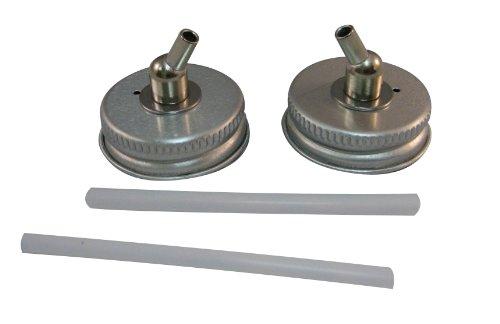 Badger Air-Brush Co. 52-208M 33-Millimeter Metal Adaptor Caps, 2-Pack