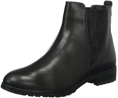 Caprice Damen 25352 Chelsea Boots Schwarz (Black Comb 19)
