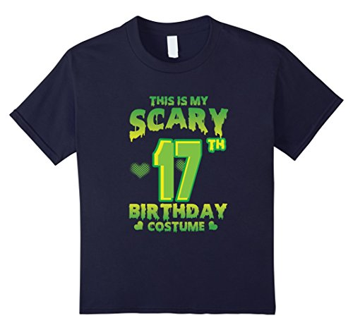 Kids Halloween Costume For 17 Years Old. 17th Birthday Shirt. 12 (Halloween Costumes 17 Year Olds)