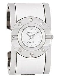 Marciano Women's| Fashion Bangle & White Crocodile Pattern PU-Leather Appliqué | FC0167