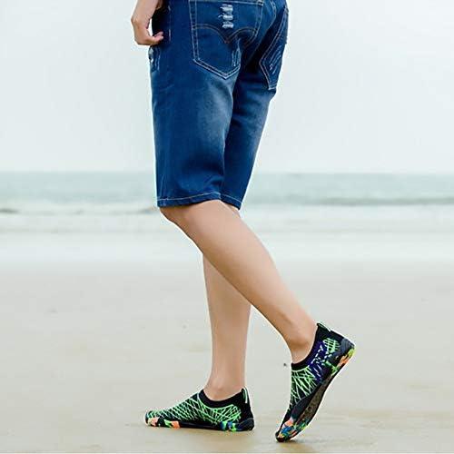 ユニセックス屋外スイミング/ビーチ/ダイビング/アップストリーム/肌/スピード干渉水/水陸両用/サーフィンソックス/アンチサンゴフィットネスランニングシューズ ポータブル (色 : Green, Size : US8.5)