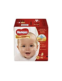 HUGGIES Little Snugglers Baby Diapers, Size 2, 92 Count BOBEBE Online Baby Store From New York to Miami and Los Angeles