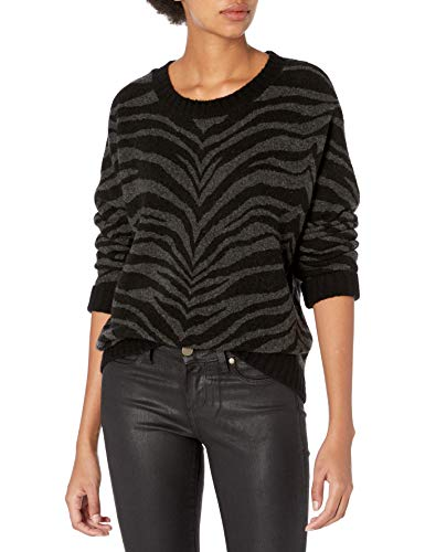 Rails Women's Chance, Charcoal Tiger Stripe, Small