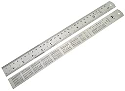 The Stainless Steel Ruler 12 Inches