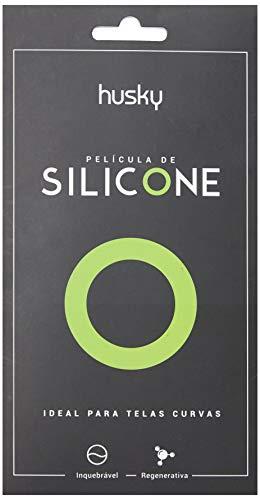 Husky Película de Silicone para iPhone X, Transparente