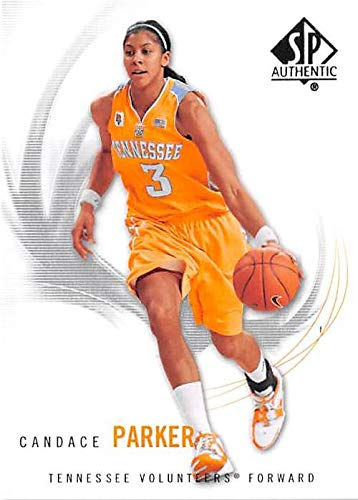 Candace Parker basketball card (Tennessee Lady Volunteers) 2010 Upper Deck SP #38 ()