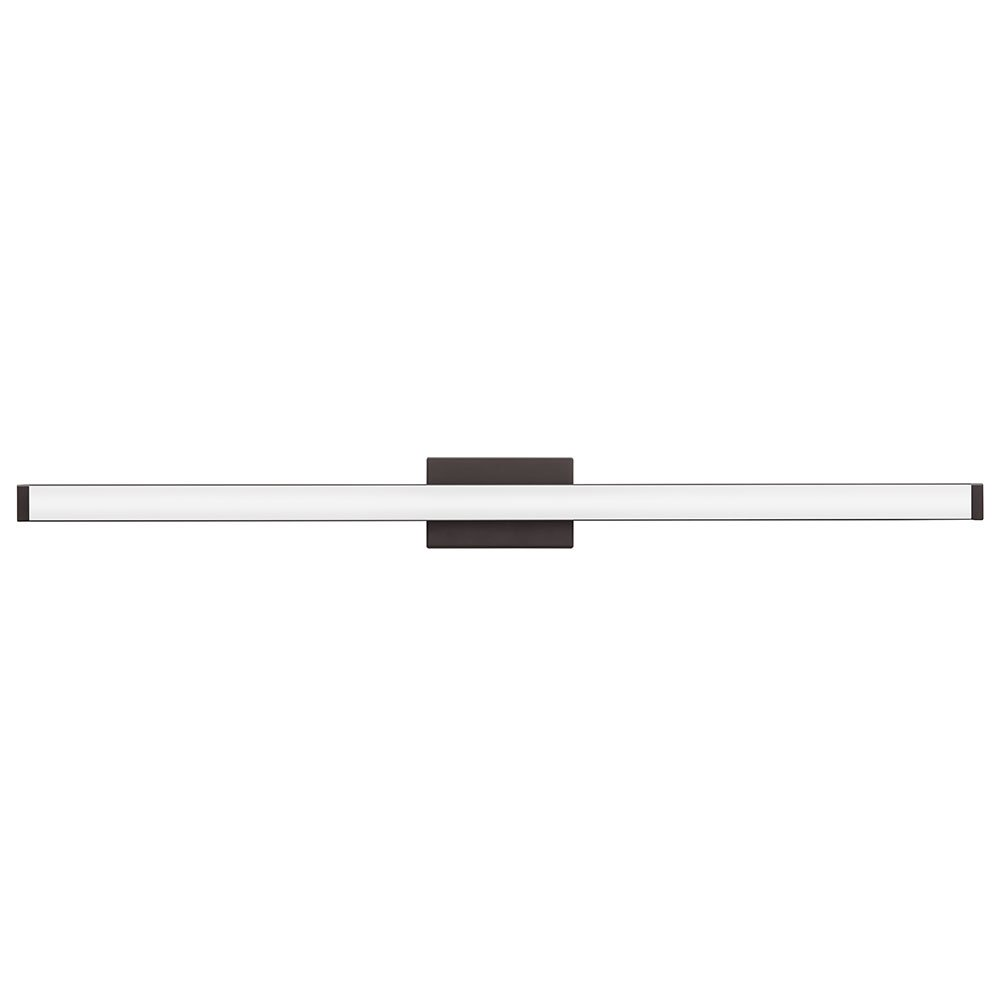 (Contemporary Square, 0.6m, Brushed Nickel) - Lithonia Lighting Contemporary Square 3K LED Vanity Light, 0.6m, Brushed Nickel B01DK5GUR8 2-Foot|つや消しニッケル|コンテンポラリー スクエア(Contemporary Square) つや消しニッケル 2-Foot